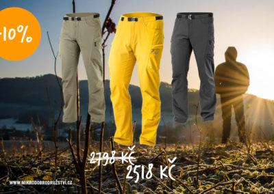 Tilak Crux kalhoty na hory, turisticke, ceska vyroba